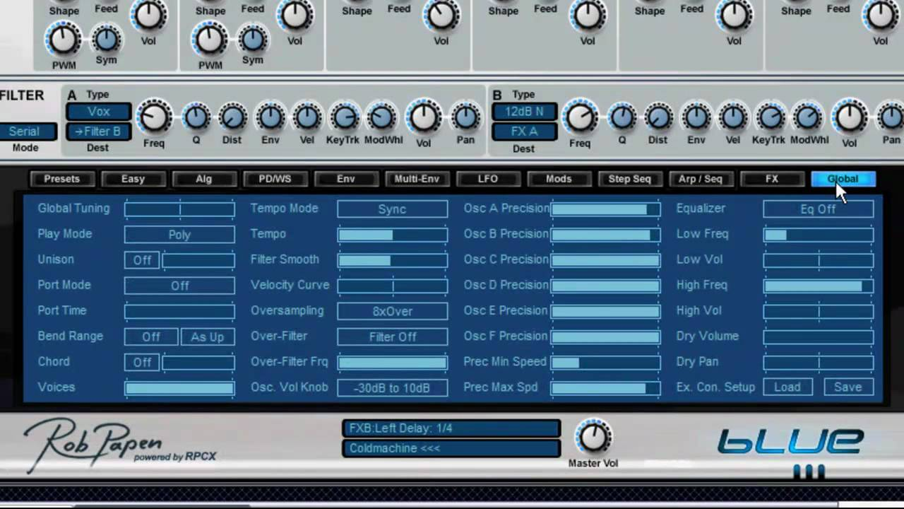 Rob Papen Blue Crack - provst.net